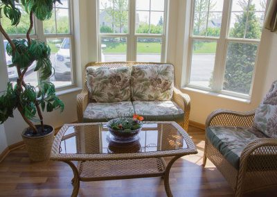 Creekside Manor Sunroom